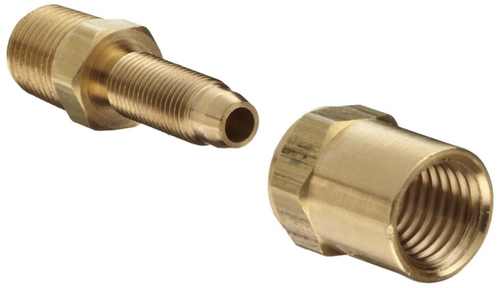 Piece reusable fittings american supply company